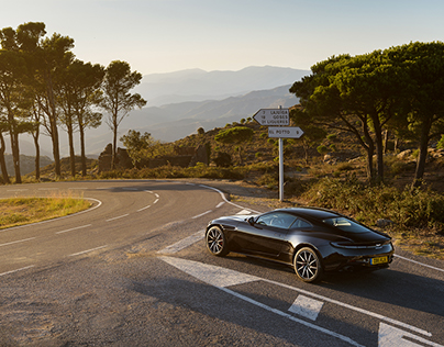 Aston Martin DB11 V8 global media launch