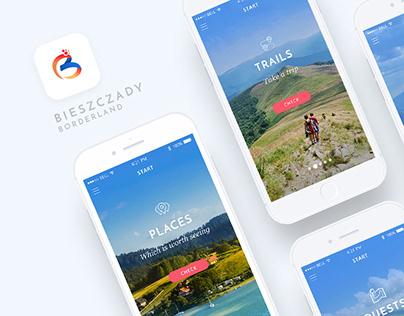 Bieszczady Borderland / IOS, Android Tourist App