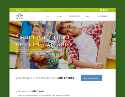 WEB: Jardín Infantil Little Friends