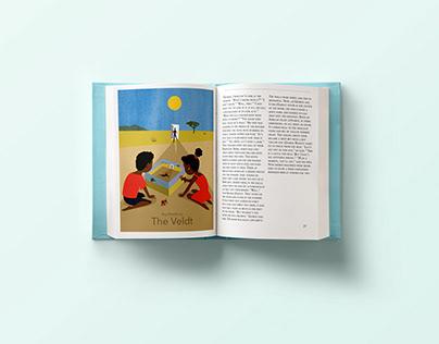 The Veldt. Children's Book Illustration