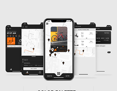 ETKU Electric Scooter App UI/UX Design