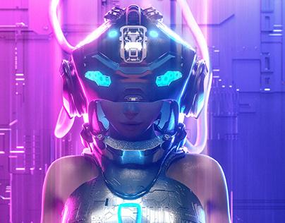 Cyberpunk Girl
