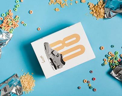 Victor Cruz x Nike x Kith Treats Cereal Box