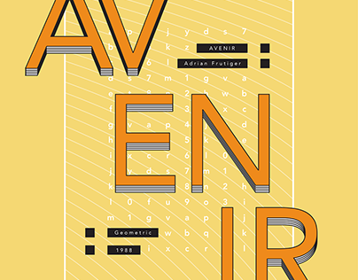 Influential Type | Avenir