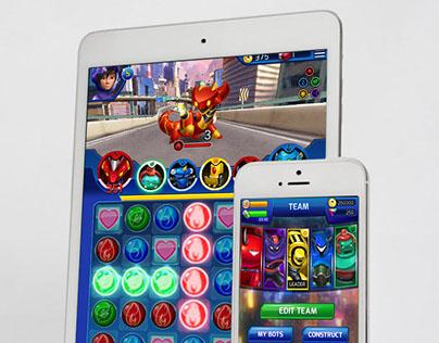 Big Hero 6 Bot Fight Mobile Game