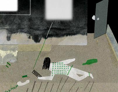 Editorial illustration 2017