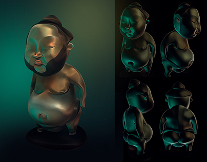 3D - SUMITO - Character Design