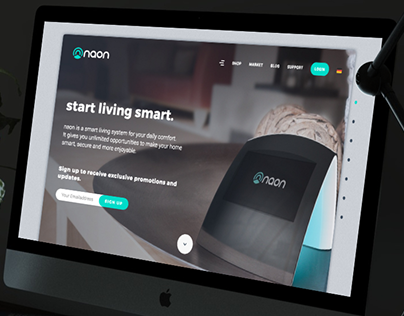 Web Design for NAON device