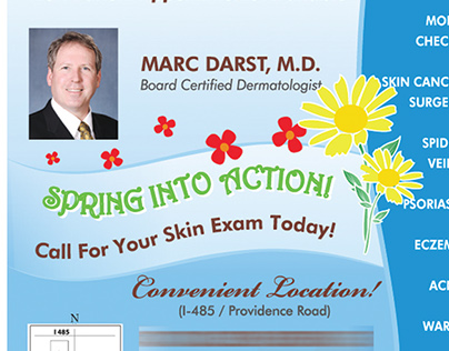 Magazine Ads for Dermatologist