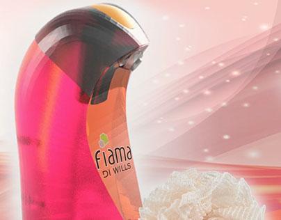 Shower gel packaging - Fiama Di Wills