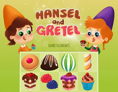 Match Three Game Hansel And Gretel