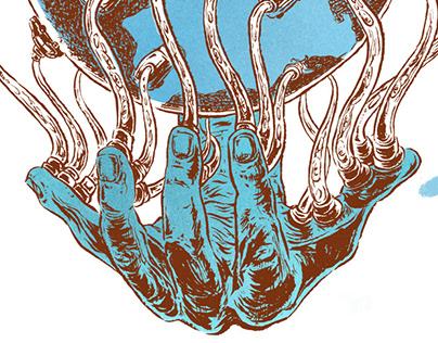 The Platform Economy - Editorial Illustration
