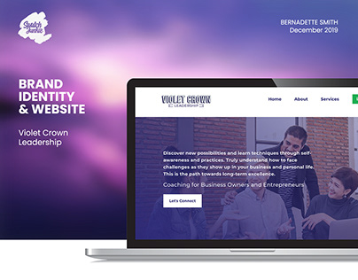 Business Coaching Brand Identity & Website