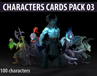 Characters Cards Pack 03
