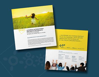 Presentation leaflet - IBCR