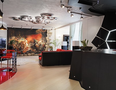 Interior like a modern ART