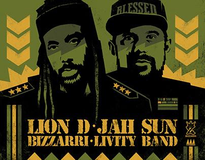 BIZZARRI RECORDS - LION D / JAH SUN