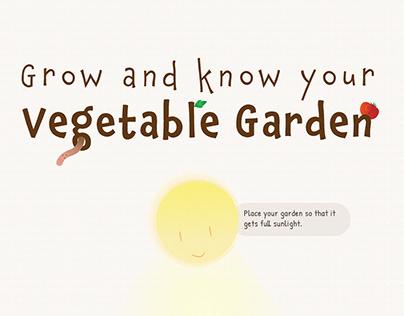 Vegetable Garden Infographics (Dec 2020)