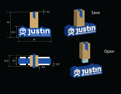 Design for flash drive (material: Polyvinyl chloride)