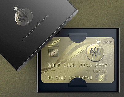 GOLD CARD AS SAINT-ETIENNE CREDIT AGRICOLE