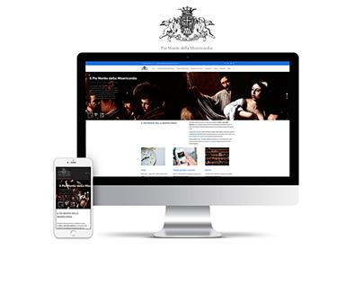Piomonte della Misericordia - Web site