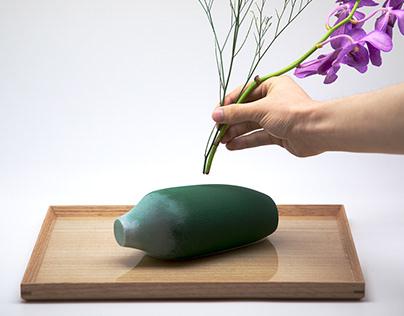 Floral Foam Vase