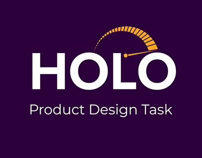 Holo App - Product design (Research, UX & UI)