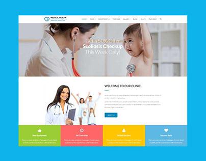 MedicalHealth - Doctor & Healthcare WordPress Theme