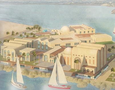 GRADUATION PROJECT HANDICRAFT HUB ,ASWAN, EGYPT