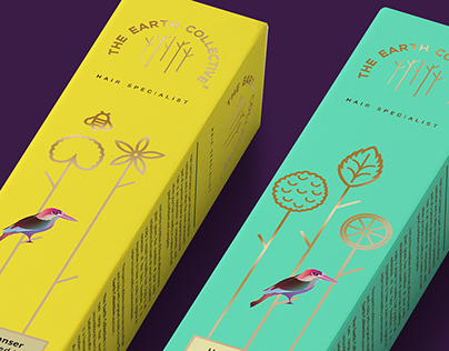 Branding : The Earth Collective | Hair Specialist