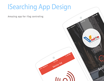 ISearching Mobile App Design
