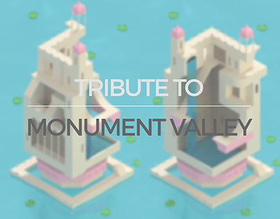 Tribute to Monument Valley