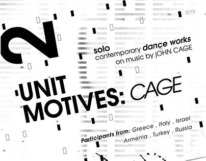 Unit motives: Cage poster