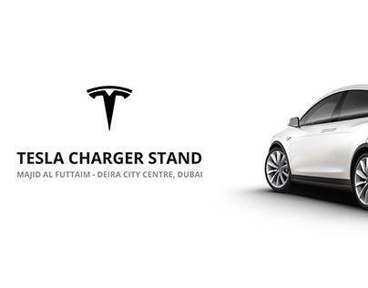 Tesla Charger Stand, Dubai