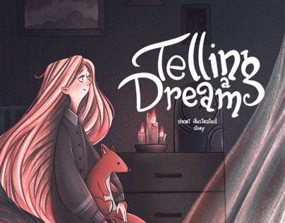 Telling a Dream - Children's book illustrations