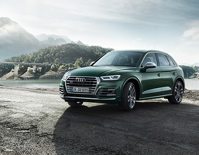 Audi SQ5 Catalogue Shooting