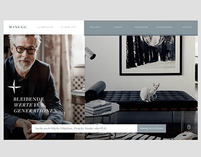 WINEGG - Relaunch Website