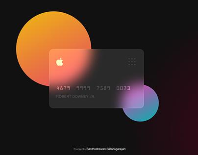 Apple Card - Concept Design
