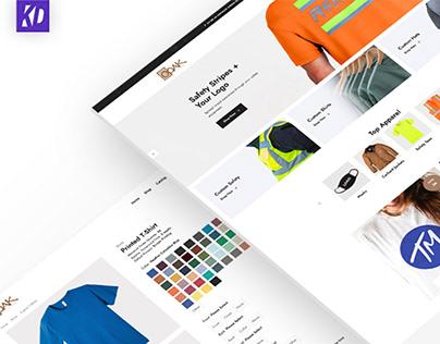 OOAK Prints - Website Redesign (2021)