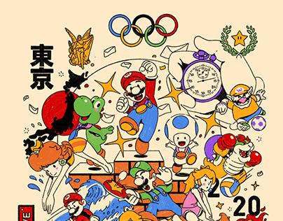 mario tokyo 2020
