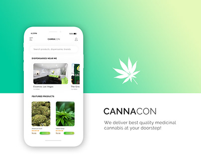 Cannacon App Design