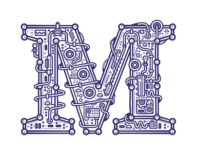 Mechanic typography