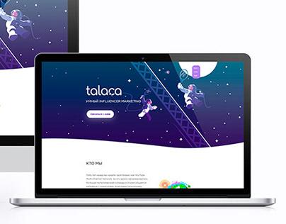 tala.ca - Landing page