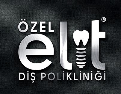 Elit Ağız Ve Diş Sağlığı Polikliniği Logo Design