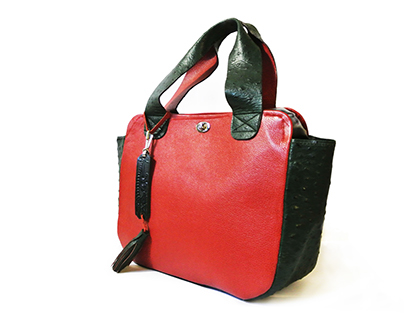 ANNA LEATHER TOTE