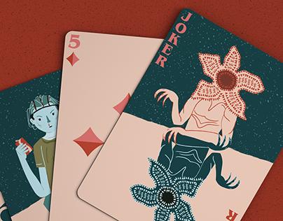 Stranger Things Playing Cards