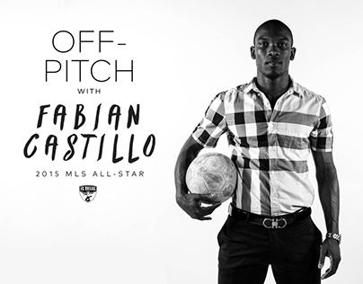 Off-Pitch: Fabian Castillo - 2015 MLS All-Star