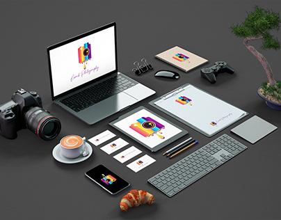 Photography Logo Design With Branding Design