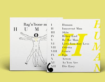 Vinyl Cover - Rag'n'Bone Man - HUMAN