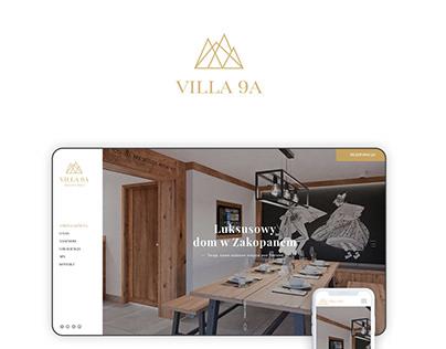 Logo&website villa9a
